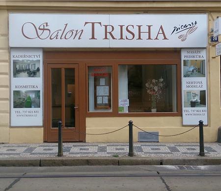 Kosmetika Trisha, pohled z ulice